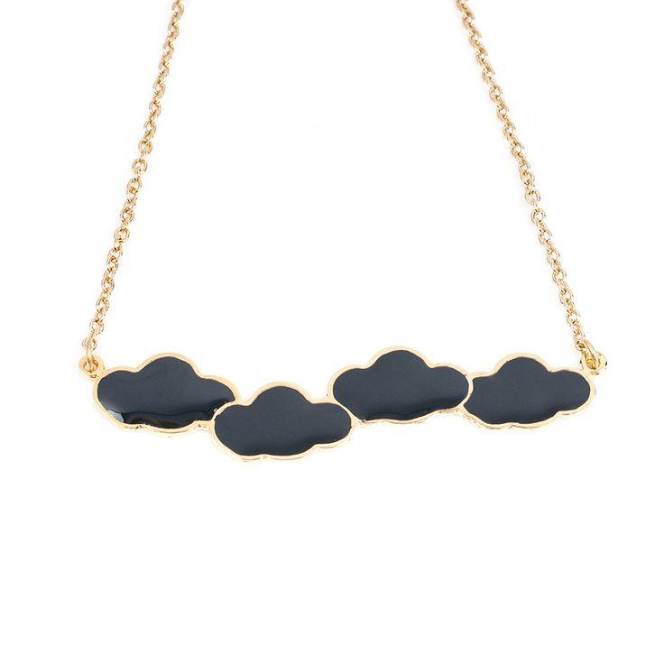 Collier nuages - Bonnie Par Coeur