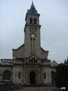 Paris Chapelle de l'hôpital Tenon, XX°.