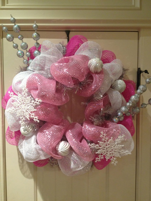 188 best Christmas wreath images on Pinterest | Christmas crafts ...