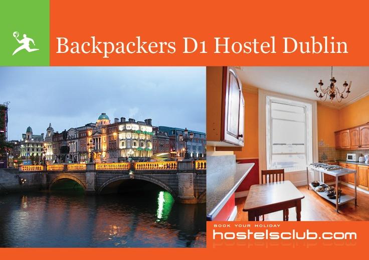 Backpackers D1 Hostel a Dublino: letti da 10€ a notte! Si trova a soli 10 minuti da Temple Bar, la colazione e una mappa della città sono incluse! L'ostello si trova in un edificio antico, ristrutturato di recente, ma con molte delle vecchie decorazioni ancora da ammirare!
