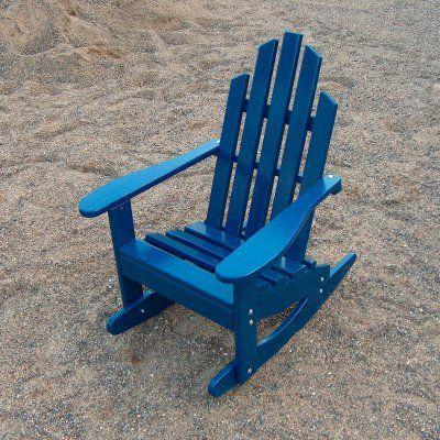 Outdoor Prairie Leisure Junior Adirondack Rocking Chair - 88-UNFINISHED