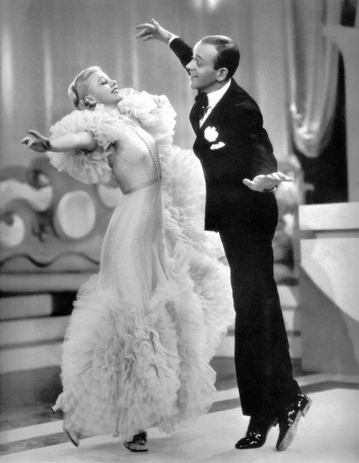 """Fred Astaire & Ginger Rogers in """"Swing Time"""" (1936)"""