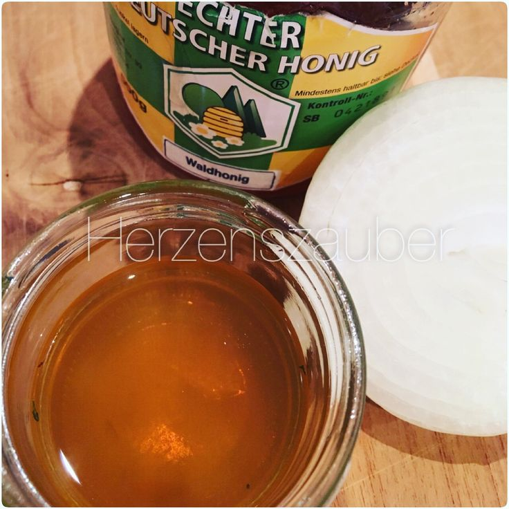 Zwiebelsirup das Beste Hausmittel gegen Reizhusten