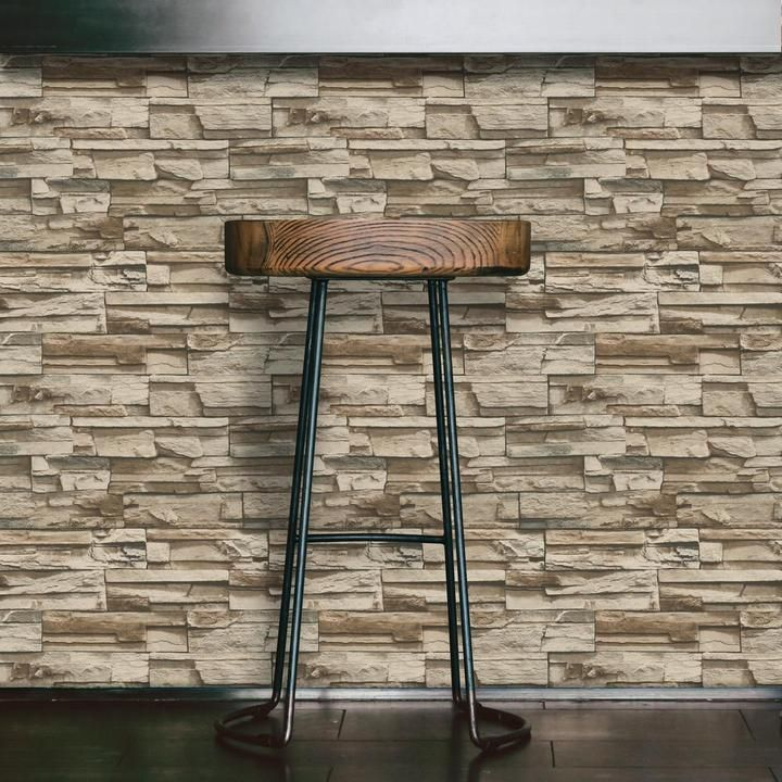 Stacked Stone Peel And Stick Wallpaper Stacked Stone Peel And Stick Wallpaper Stone Accent Walls