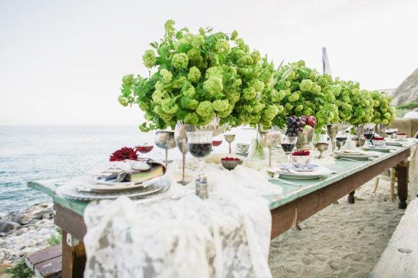 Style Me Pretty Beach Wedding