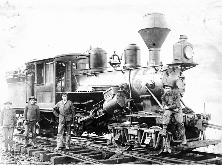 Logging Railroad Locomotive Engine Locomotive Steam