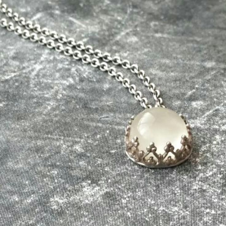 Cute moonstone pendant!