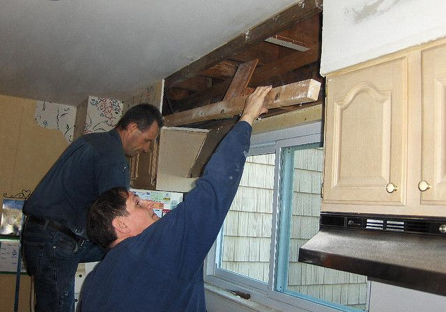 What Is A Kitchen Soffit And Can I Remove It: 10 Best Images About Ways To Hide Plumbing Pipe On