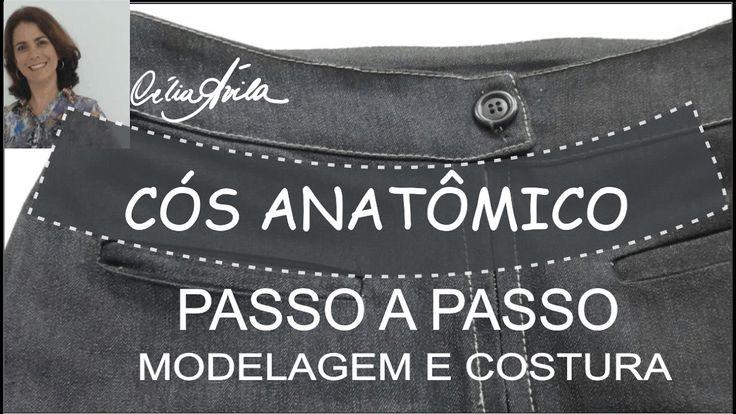 CÓS ANATÔMICO - COMO MODELAR E COSTURAR COM CÉLIA ÁVILA