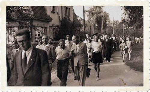 V roce 1948 byla dnešní Okružní ulice nazvaná Ulicí Esperanto. (R. Mauserová)