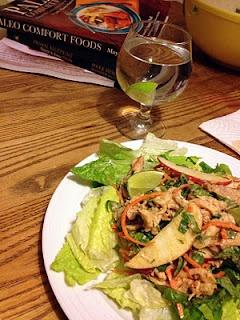 Asian Almond Chicken Salad