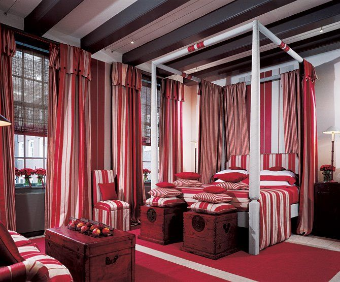 661 best images about color red rooms i love on pinterest - Bedroom Color Red