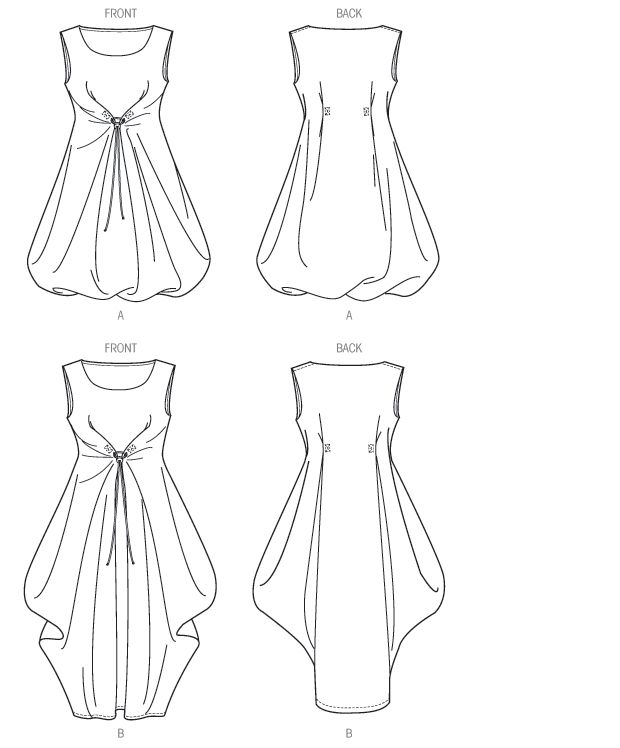 V1410 Misses' Dress | Easy
