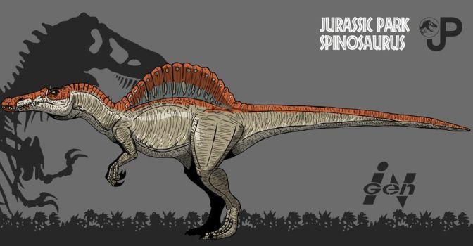1586 best jurassic park world images on pinterest - Spinosaurus jurassic park ...