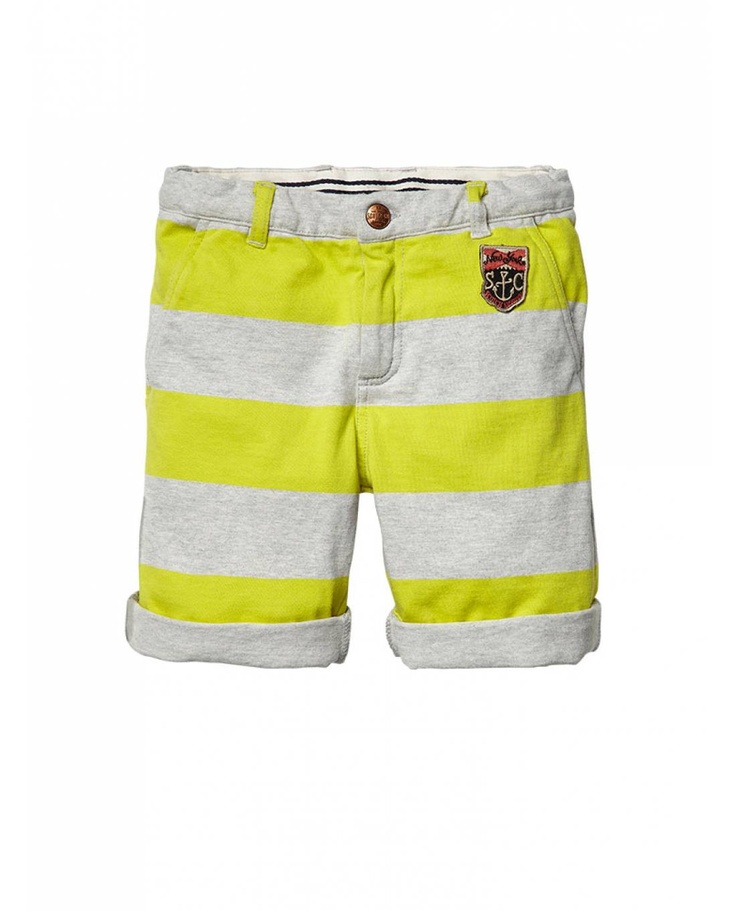 Dressed shorts in heavy jersey - Shorts - Official Scotch & Soda Online Fashion & Apparel Shops