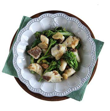 鯛と菜の花のマスタード焼の作り方・レシピ | 暮らし上手