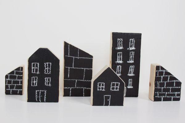 Ideas para decorar con pintura de pizarra o blackboard paint #manualidades #decoración #materialesparamanualidades