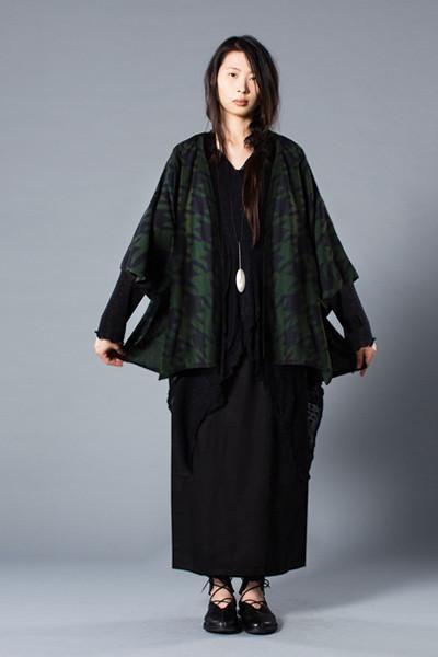 Shown w/ Short Kimono Jacket and Overlap Skirt