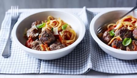 Get dinner on the table in under half an hour with this quick and easy recipe from The Hairy Bikers.