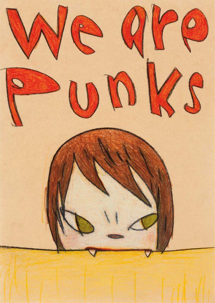 Yoshitomo Nara (B. 1959)We Are PunksOnline: Post-War and Contemporary Art