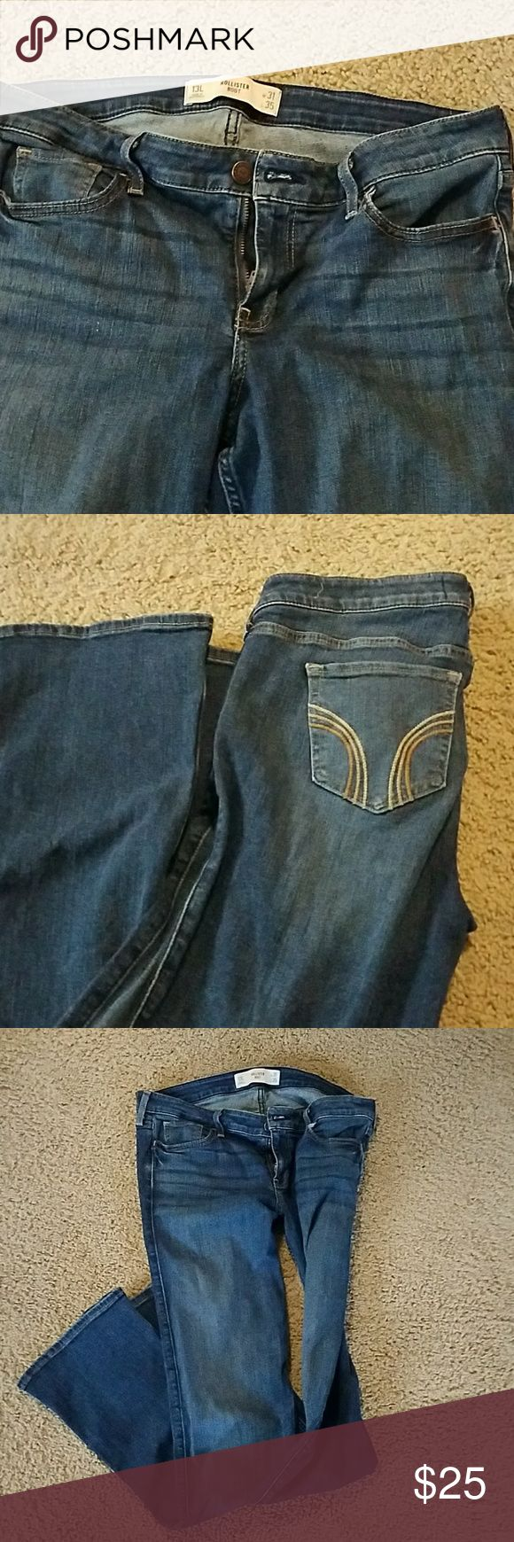 Hollister boot cut size 13 or 31/length 35 Boot cut Hollister Jeans Boot Cut