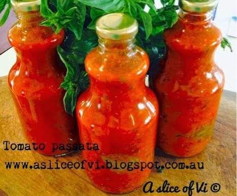 Recipe Tomato Passata by Elisha-Vi - Recipe of category Sauces, dips & spreads