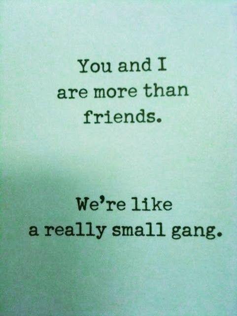 <3 friendship