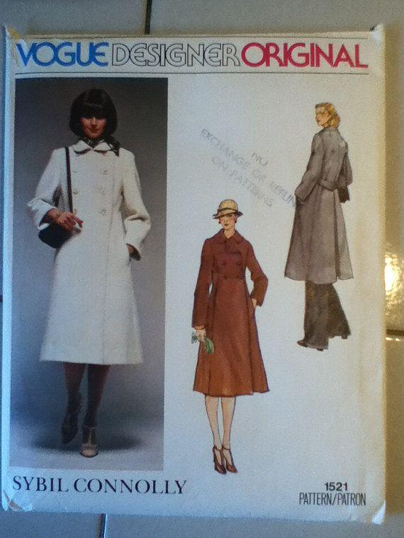 29 besten Vintage Vogue Sewing Patterns Bilder auf Pinterest ...