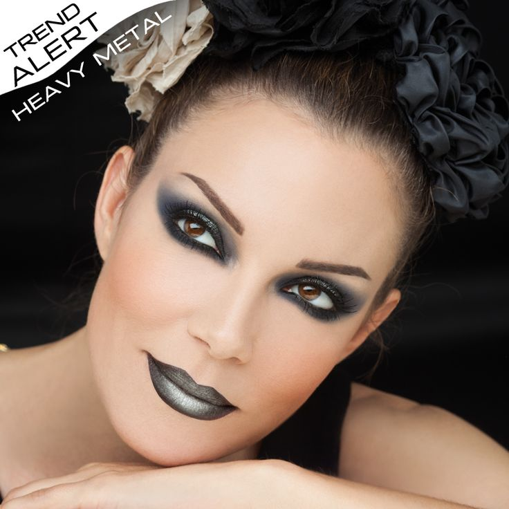 How 'metal' will you go this season? It's time to show your wild side! #radiantprofessional #makeuplook #fallwinter16 #makeup #makeuptrends