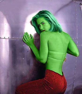 "Christina Applegate, ""She-Hulk"""