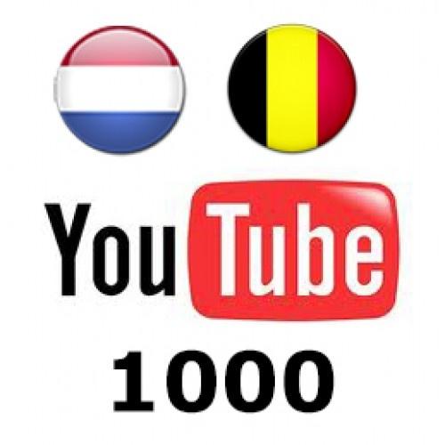 Koop nu ook 1000 Nederlandse en Belgische Youtube Views met de volgende kenmerken:   Echte views  uit Nederland (90%) en Belgie  Levering binnen ongeveer 5 dagen  Geen Blackhat of andere onpasselijke technieken 49,00€