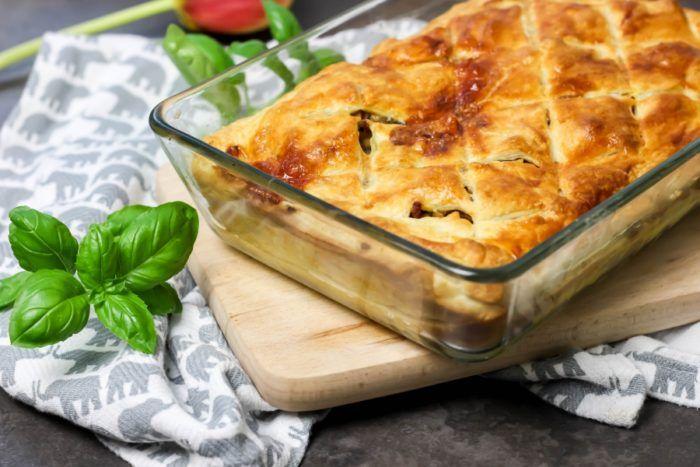 Meat Pie Czyli Mieso Mielone W Ciescie Francuskim M M Cooking Food Cheese Dairy