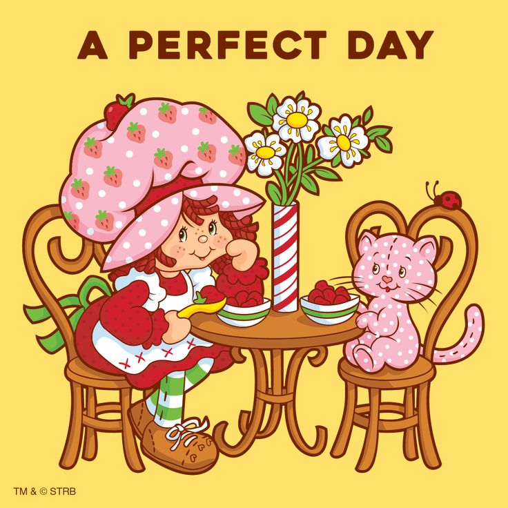 Vintage Strawberry Shortcake - A Perfect Day