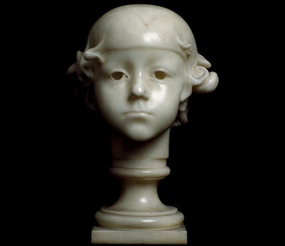 ADOLFO WILDT Augusto Solari 1918 - marmo, altezza 35,2 cm collezione privata