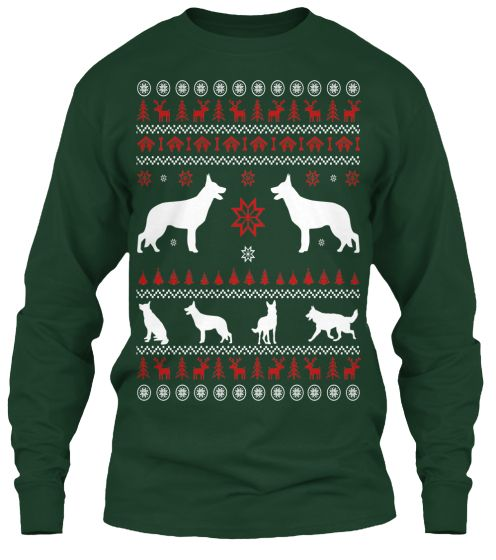 Found my Christmas Sweater!  German Shepherd Christmas Sweater | Teespring @jornick