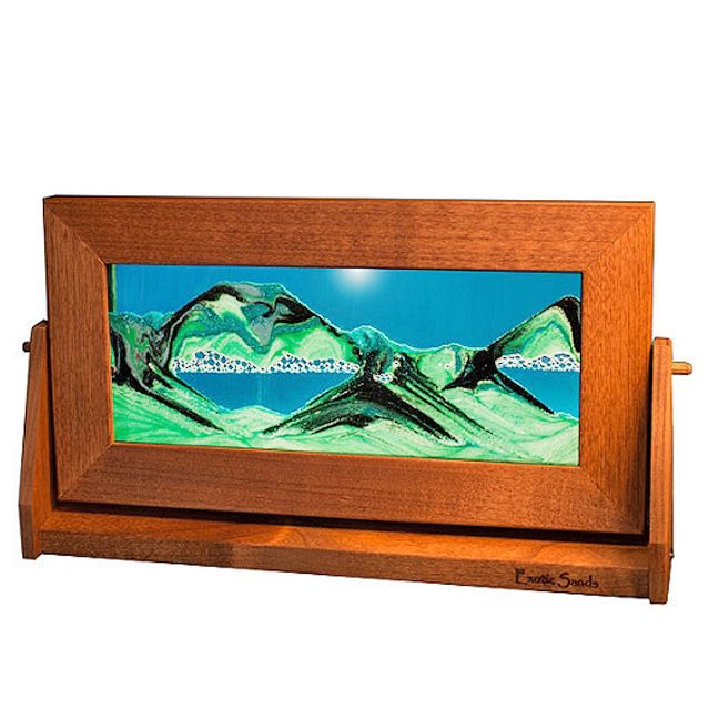 moving sand pictures summer turquoise medium art in motion a new picture with every turn moving - Moving Picture Frames