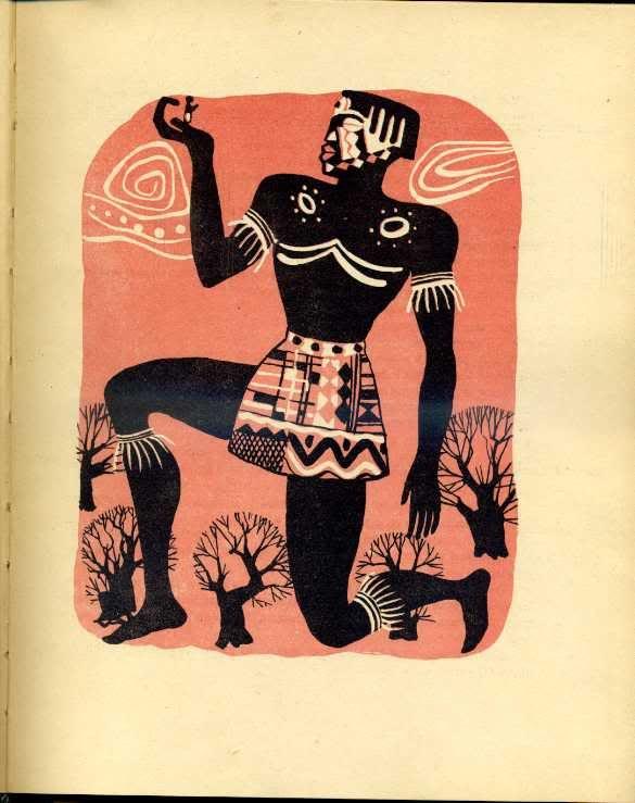 иллюстрации к африканским сказкам меня уже