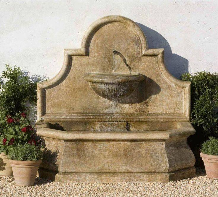 photo de fontaine murale extérieure