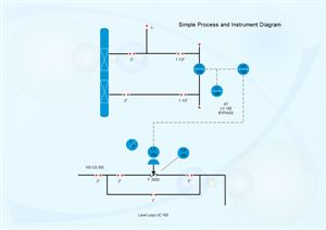 Piping and instrumentation diagram is often a vital and basic part of a whole project which requires great tool for creating. Edraw helps engineers create intelligent process and instrumentation diagrams to save time and improve accuracy.