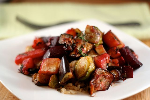 Roasted Winter Vegetables by Tasty Yummies, via Flickr