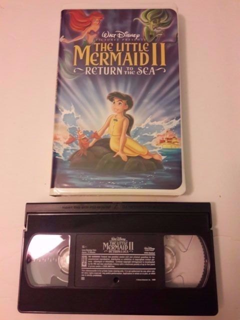 Disney The Little Mermaid II, Return to the Sea VHS, 2000
