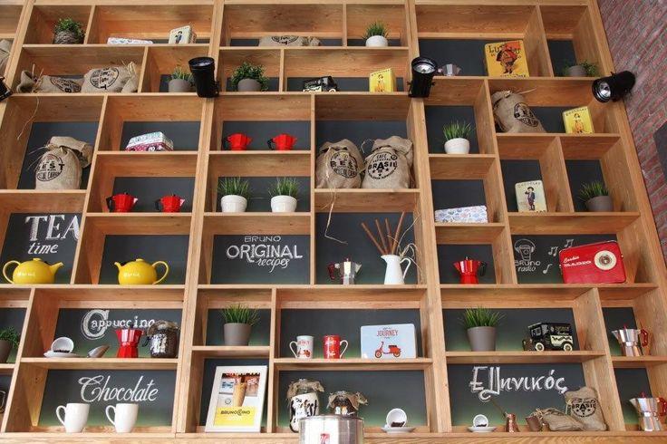 Bruno Coffee Stores | Glyfada-Athens by Dimitris Koukoudis Architect