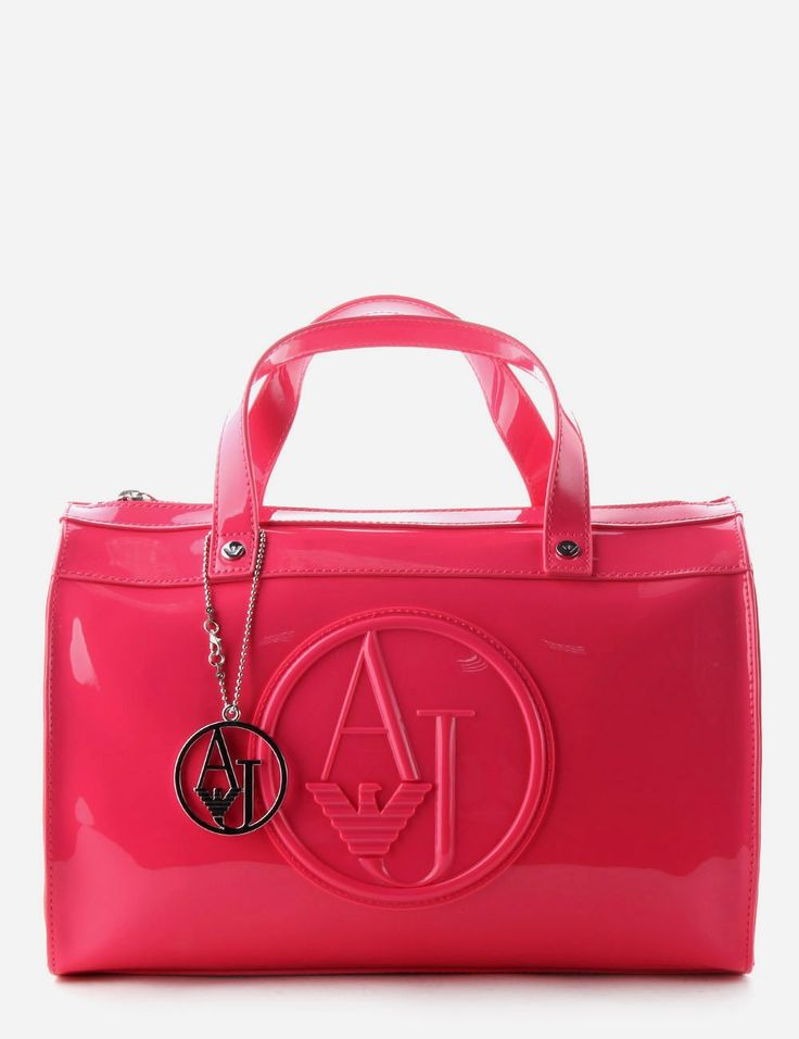 Logo patent barrel bag by Armani Jeans, featuring brand logo on front. Description from diffusiononline.co.uk. I searched for this on bing.com/images