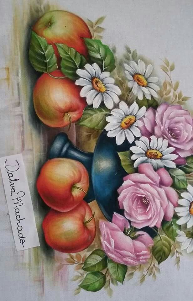 453 best images about pintura em tecido on pinterest - Pintura para decoupage ...