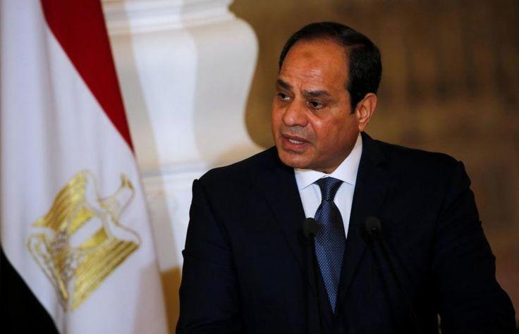 #world #news  Egypt's president leaves Cairo for Washington to meet Trump