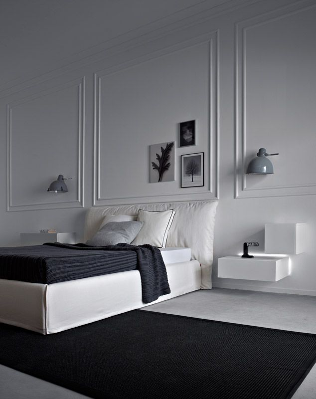 Letti e comodini | modello Piumotto | Pianca design made in italy
