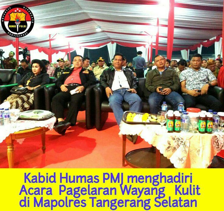 Kabid Humas Polda Metro Jaya Hadiri Pagelaran Wayang Kulit HUT Bhayangkara Ke 71 (Dengan gambar ...