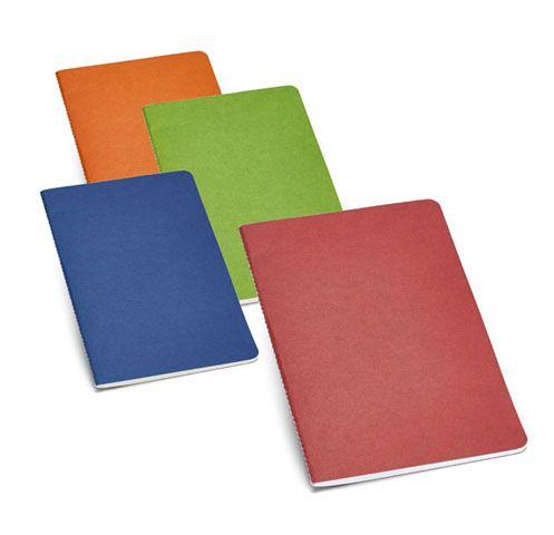 Bloc notas Green. Bloc de notas en cartón reciclado con 40 hojas. Disponible en 4 colores.  Desde 0,78 € en www.areadifusion.com