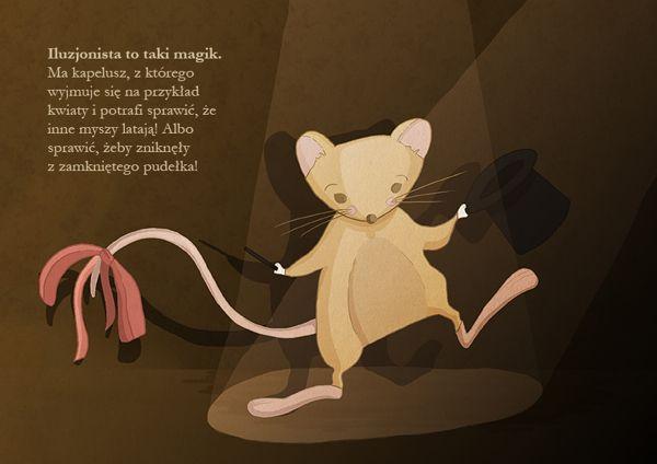 Myszka Patyszka - children's storybook illustrations on Behance