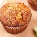 appel lijnzaad muffin koolhydraatarme recepten